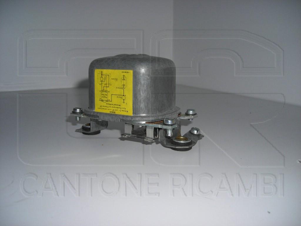 Schema elettrico dinamo e regolatore : Regolatore tensione dinamo v ah originale bosch gmbh
