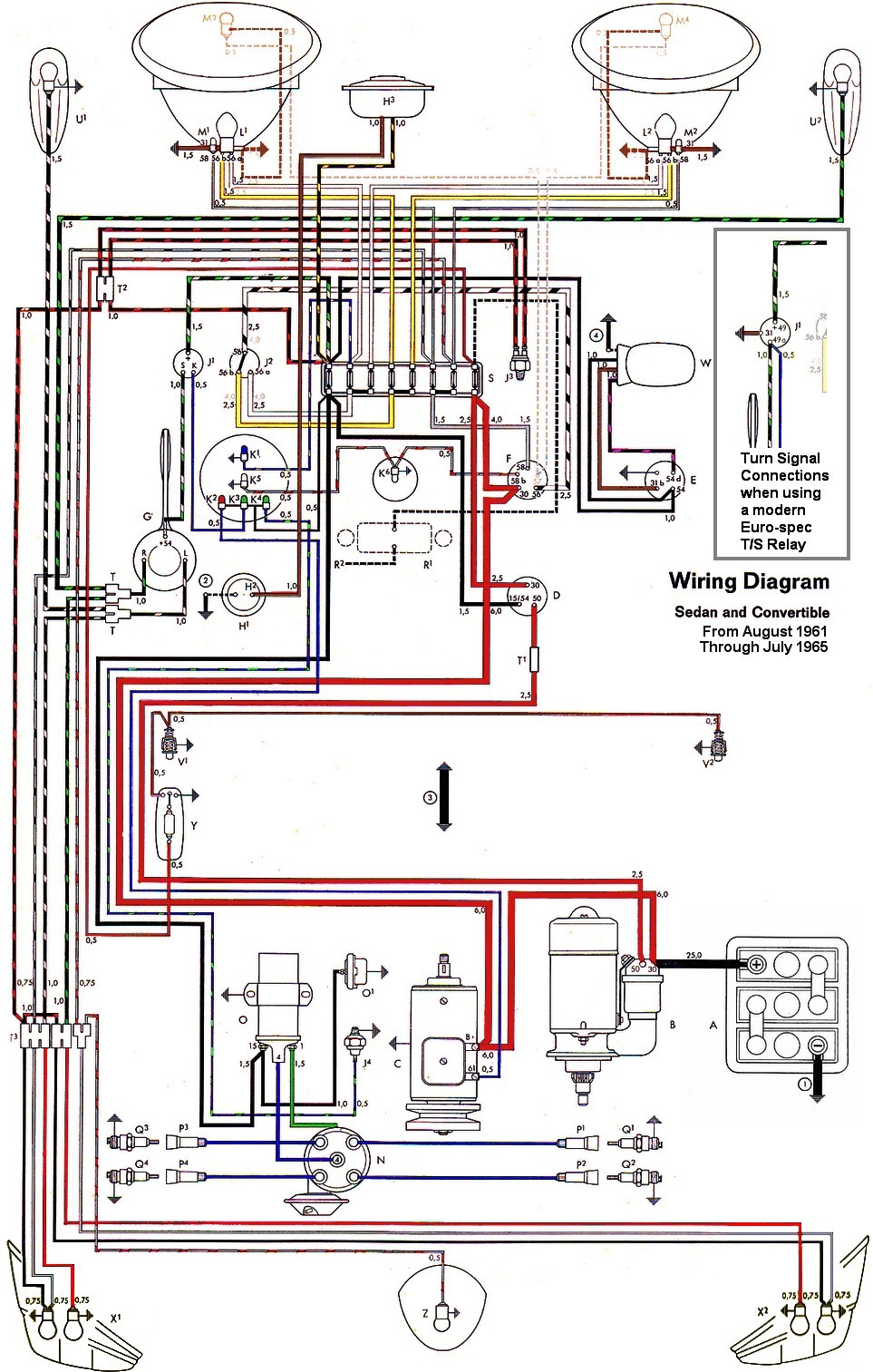 Bug Crcuito Con Euro Specs on Vw Beetle Wiring Diagram 1962